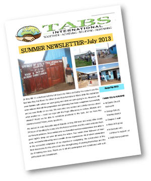 Newsletter : Summer 2013