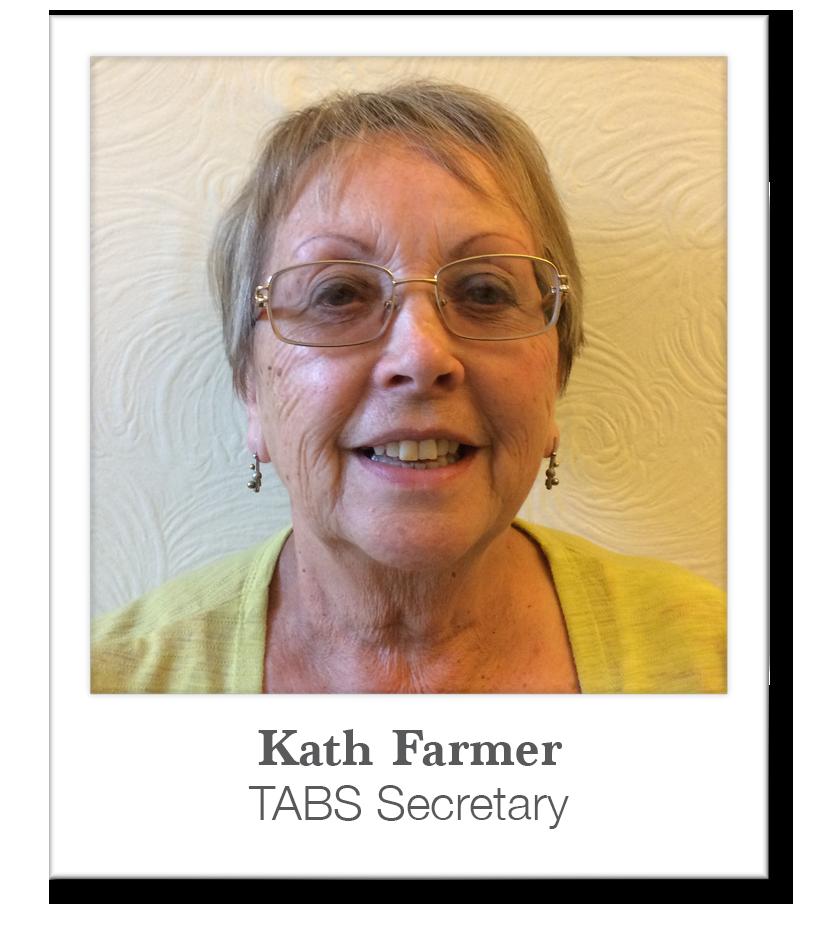 Kath Farmer : TABS Secretary