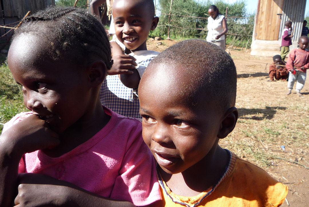 Kenya 2010 : Pre-school class children