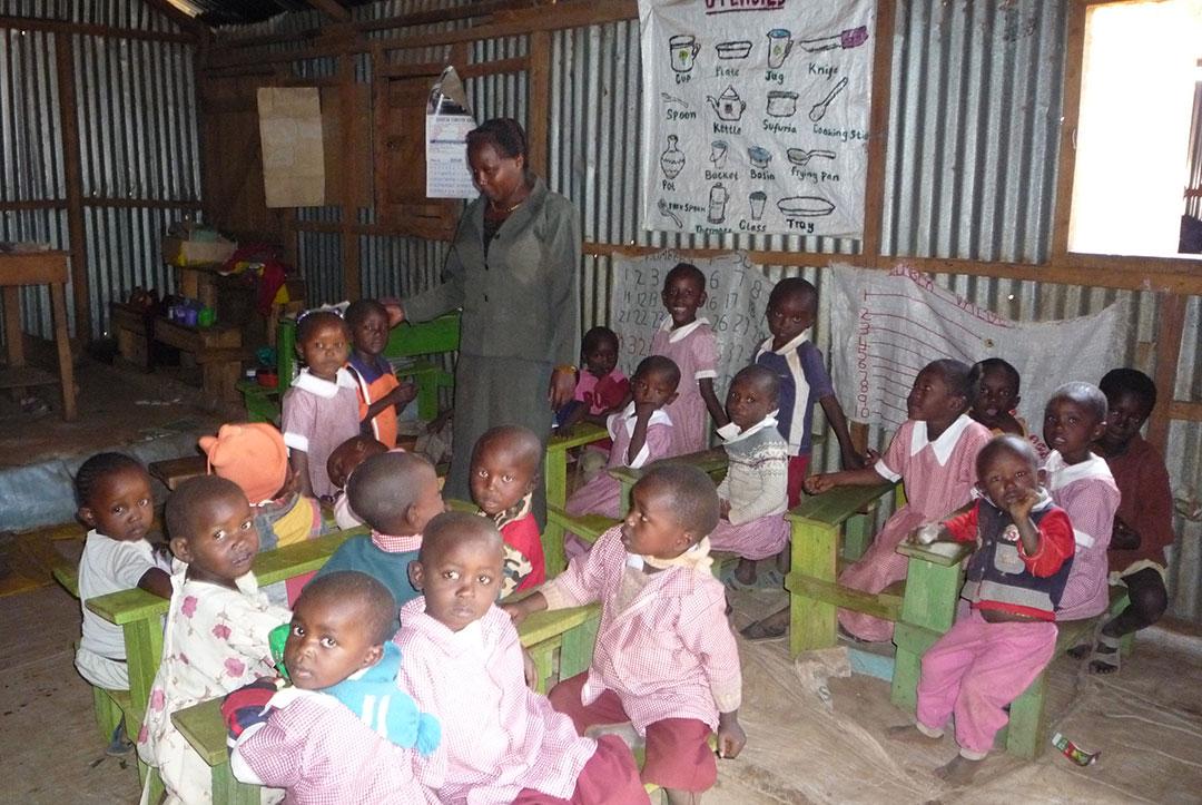 Kenya 2010 : Pre-school class