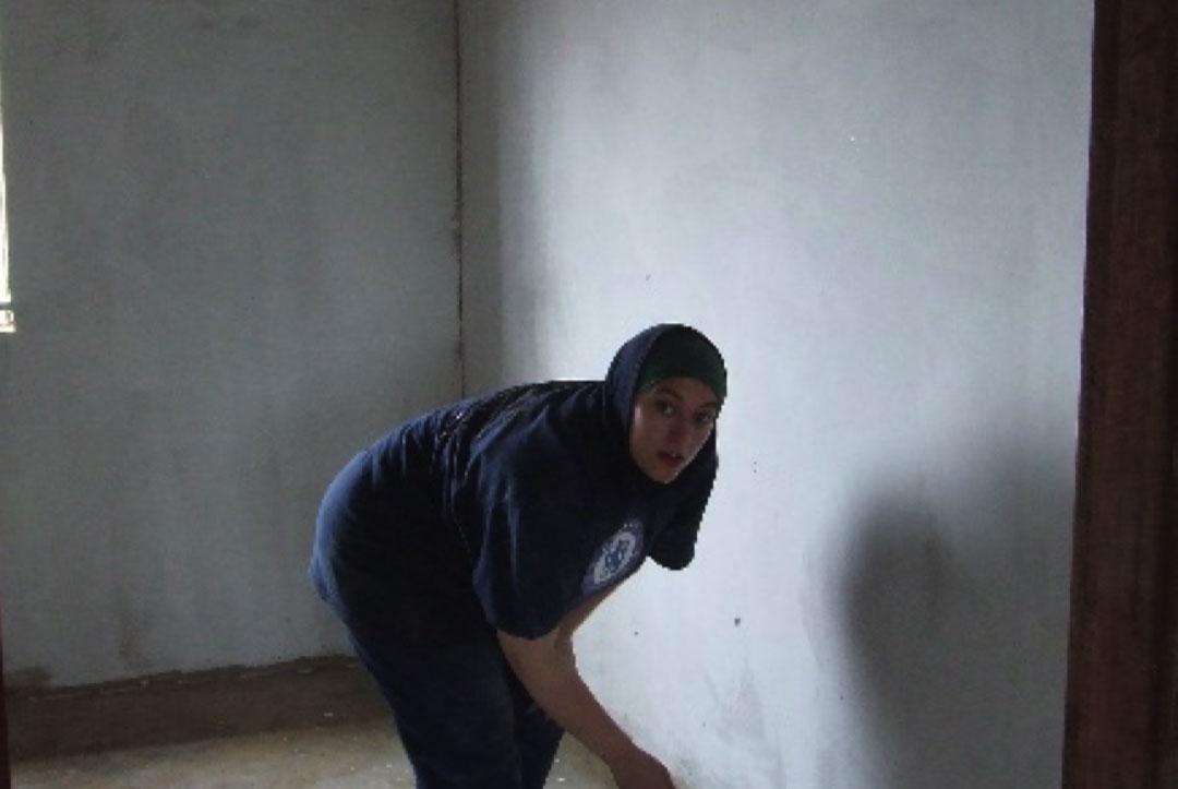 Uganda 2008 : Sarah working hard