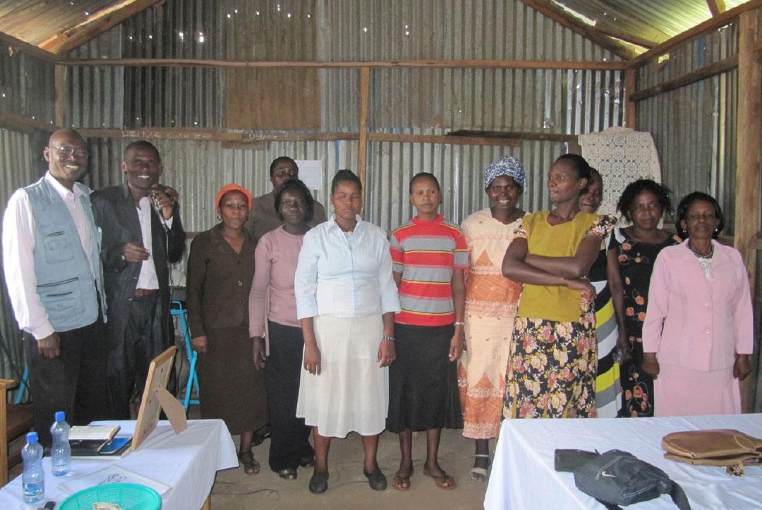 Kenya 2013 : The school staff team