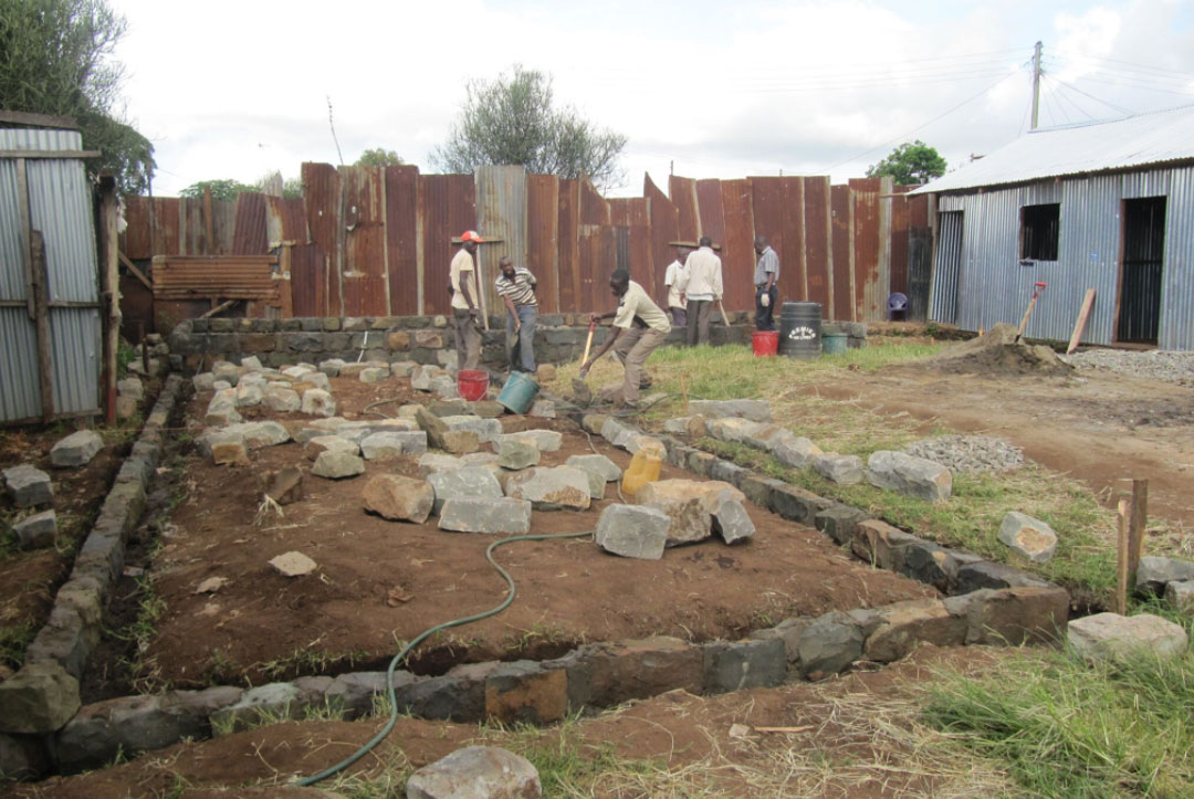 Kenya 2013 : Buildings taking shape