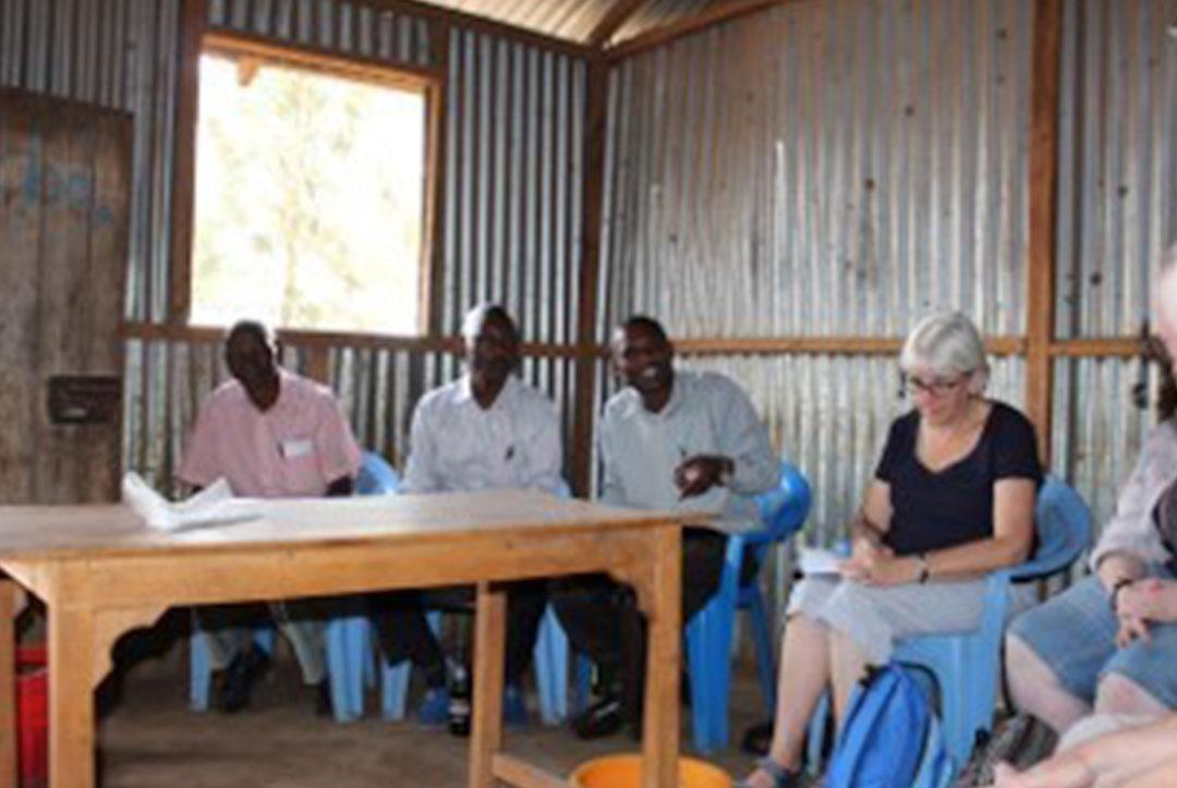 Kenya 2015 : Meeting the school leadership team