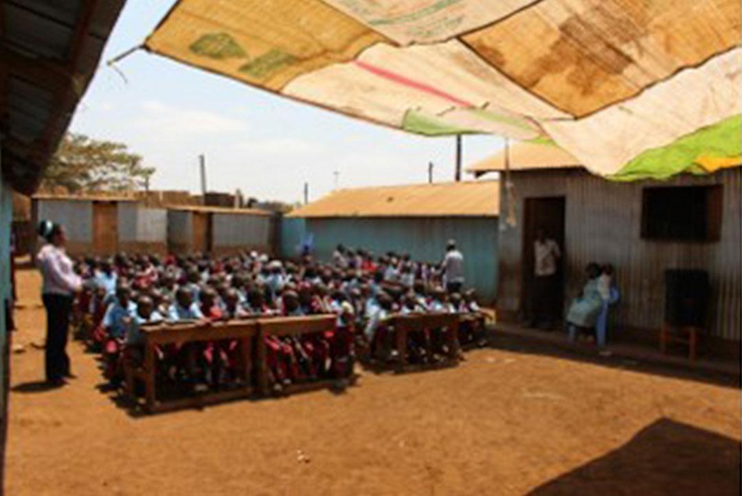 Kenya 2015 : School assembly
