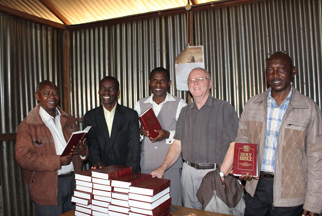 Kenya 2015 : Sharing much needed resources