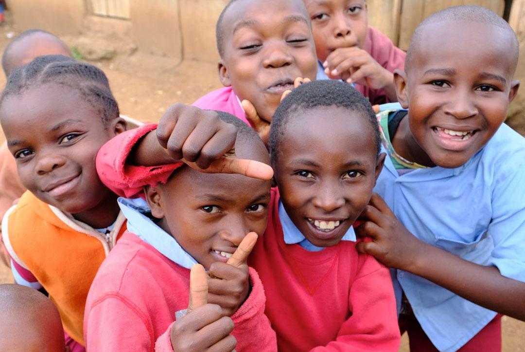 Kenya 2017 : Happy healthy children