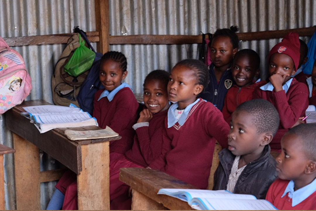 Kenya : September 2018 : Interrupting lessons again!