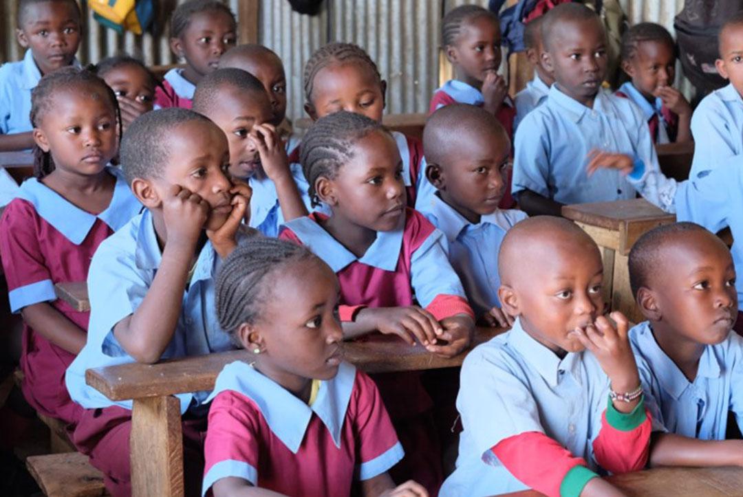 Kenya :  September 2018 : Must focus to learn