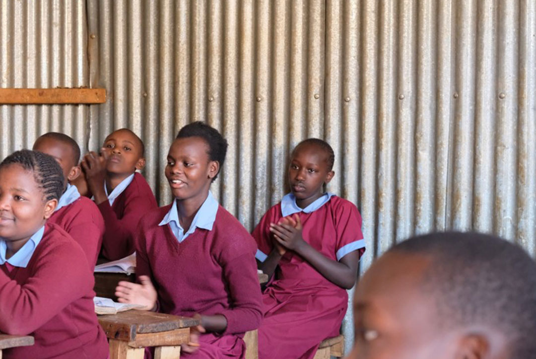 Kenya : September 2018 : Never to old to learn through song