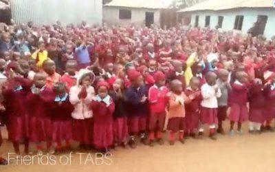 Three-TABS Trustees took eight amazing friends to visit the project in Kiandutu
