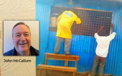 Latest pictures of the new resources centre dedicated to John McCallum