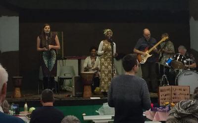 Friends of TABS African evening raises £550