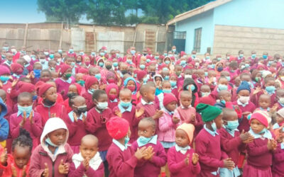 The Springs of life school re-opened for the start of the academic year after the holidays